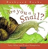 Are You a Snail Children's Book