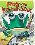Frog in the Kitchen Sink  board book