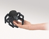 Black Spider Finger Puppet