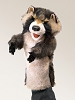 Raccoon Stage Hand Puppet by Folkmanis Disc