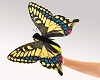 Swallowtail Butterfly Hand Puppet by Folkmanis