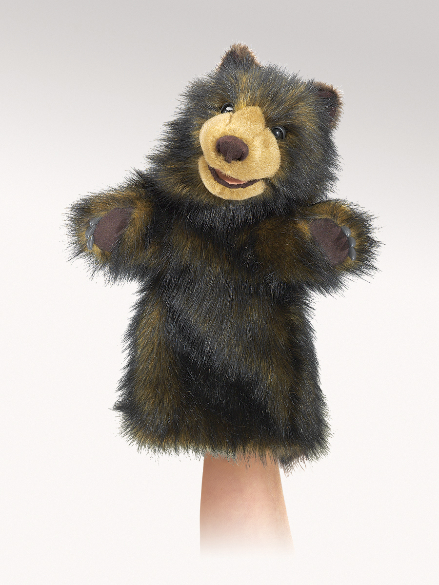 Part P Certificate >> Bear Stage Hand Puppet by Folkmanis Puppets