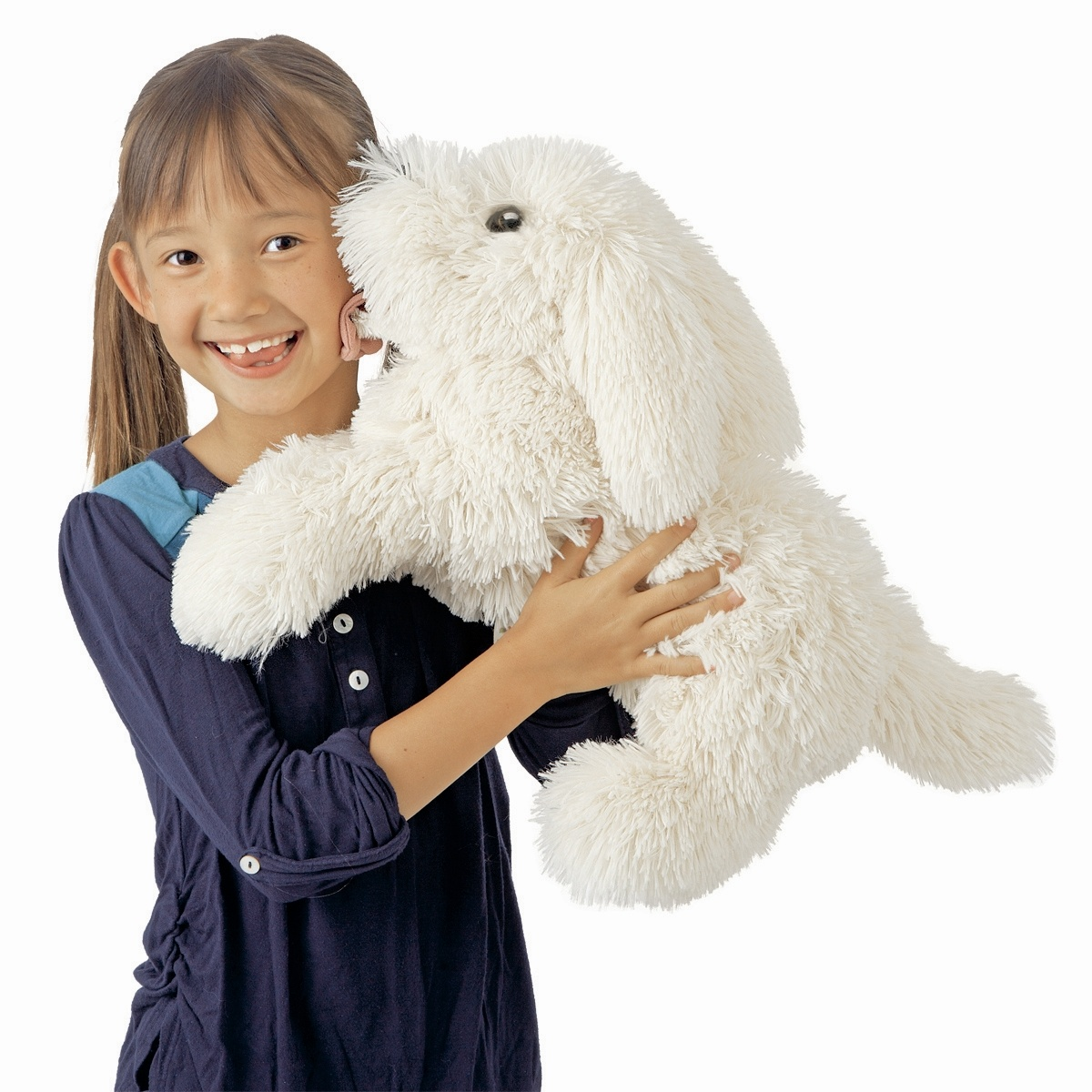 Panting Dog Hand Puppet By Folkmanis Puppets