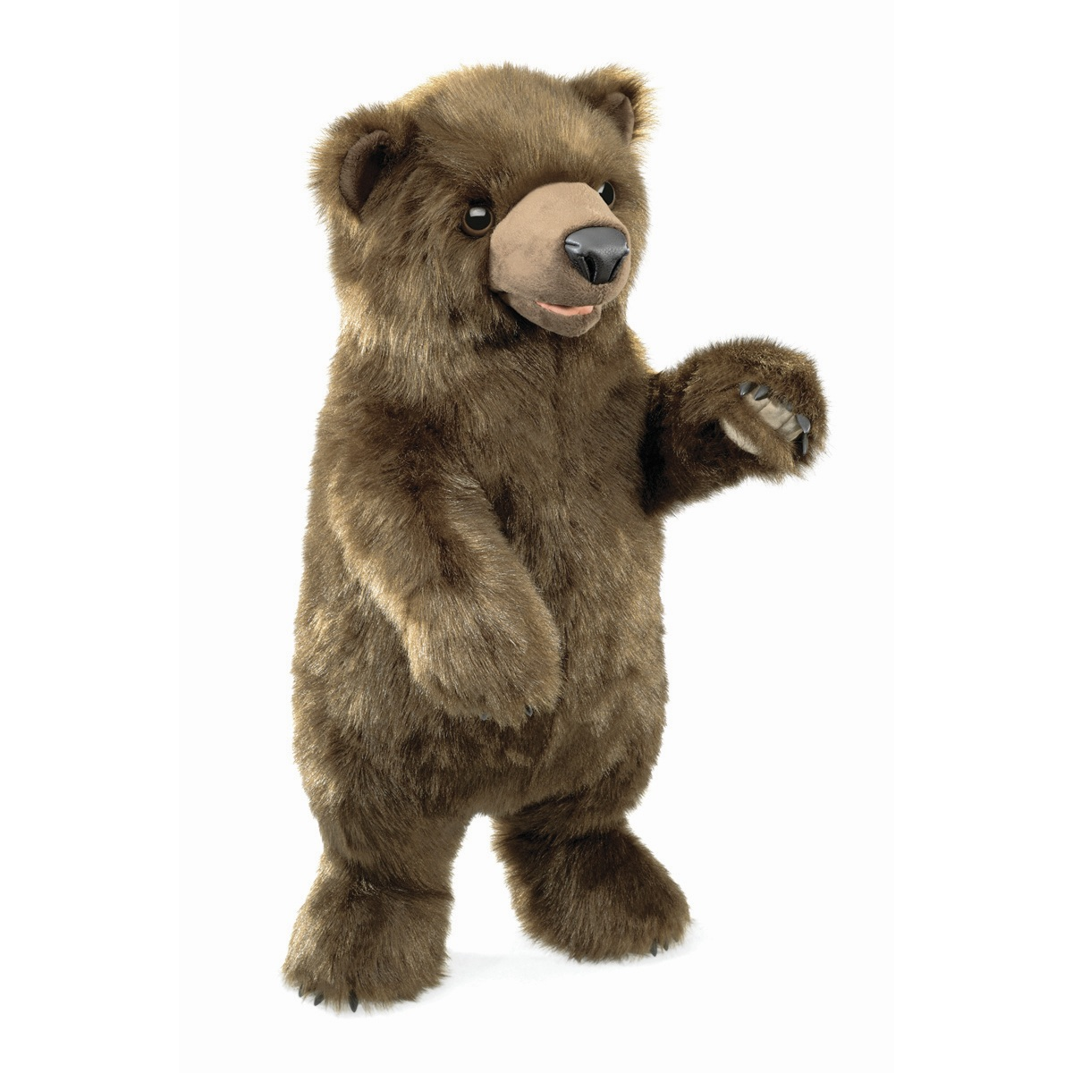 Standing Bear Hand Puppet by Folkmanis Puppets