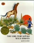 Girl who Loved Wild Horses book