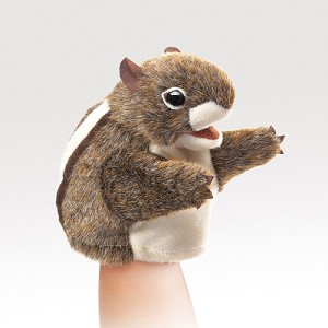 Little Chipmunk Puppet by Folkmanis