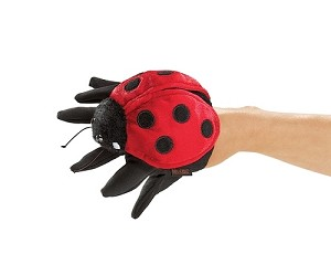 Ladybug Puppet for Hand Puppet by Folkmanis