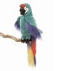 Green Macaw Hand Puppet