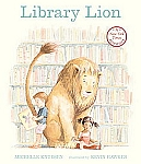 Library Lion softcover book