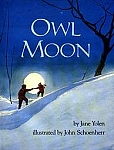 Owl Moon hardcover book