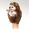Folkmanis Little hedgehog puppet