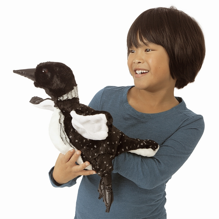 Loon Hand Puppet by Folkmanis 3071