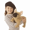 French Bulldog Hand Puppet by Folkmanis