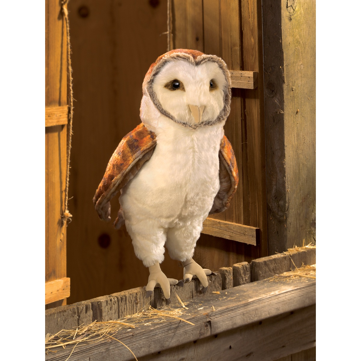 Barn Owl Hand Puppets 3124 By Folkmanis Puppets Inc