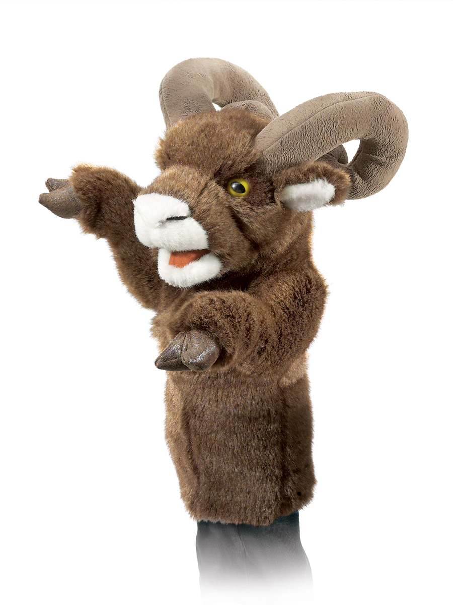 big horn sheep stage puppets by folkmanis puppets disc
