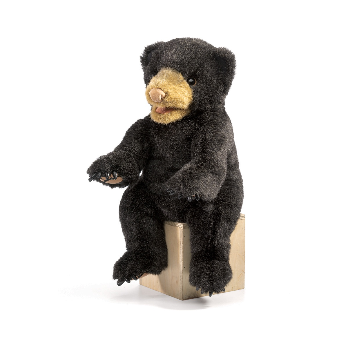 Black Bear Cub Puppet by Folkmanis 2831