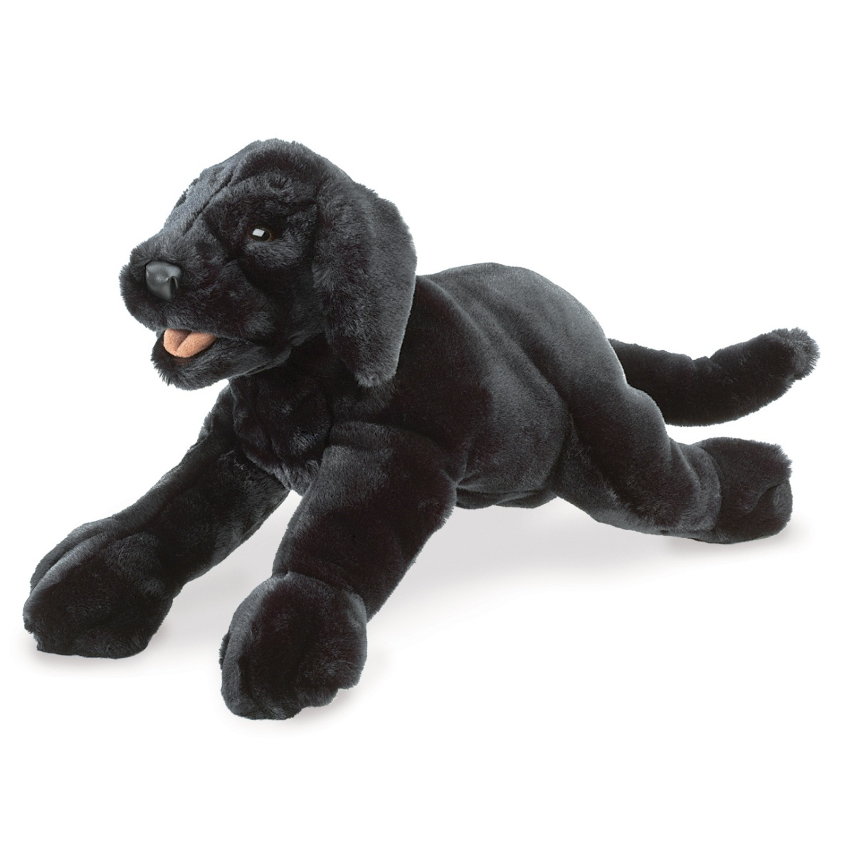 Black Labrador Hand Puppets by Folkmanis Puppets