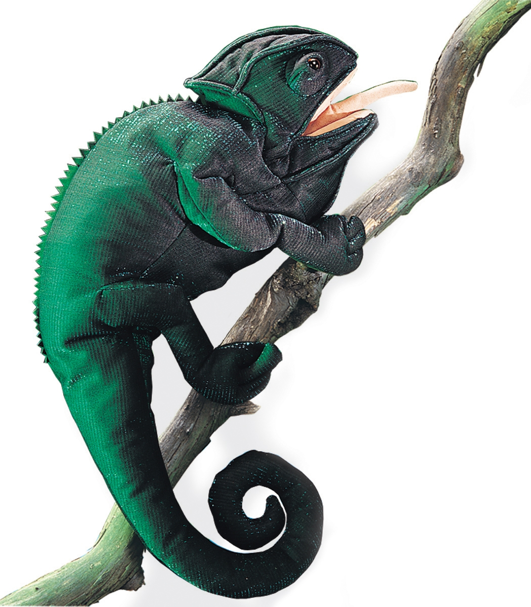Chameleon Hand Puppet by Folkmanis Puppets MPN 2205