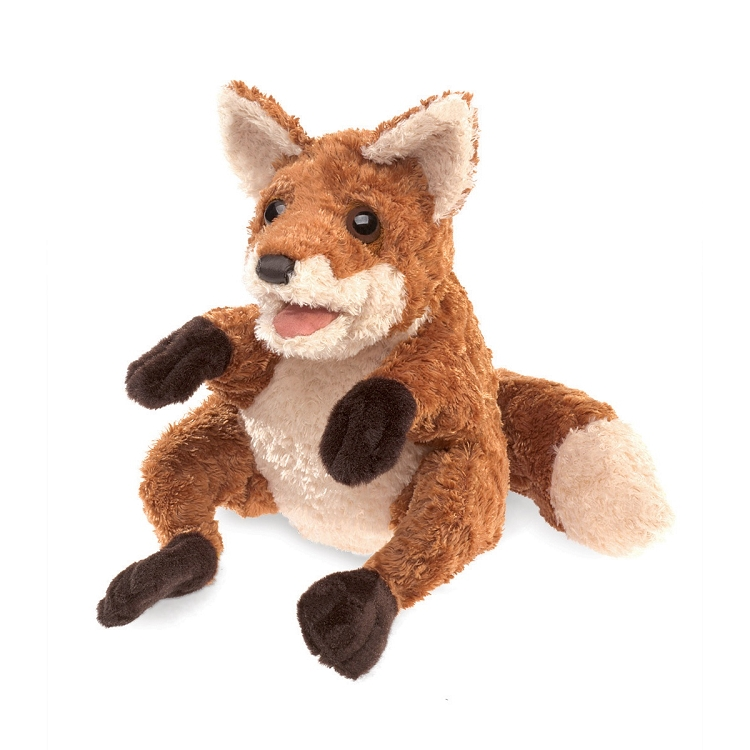 Crafty Fox Puppet by Folkmanis 3081