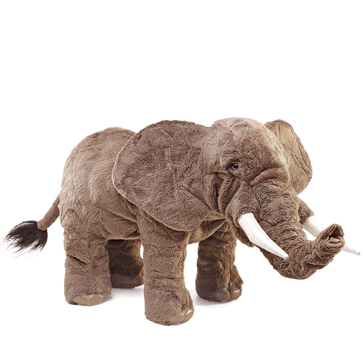Elephant Hand Puppet & Movable Trunk by Folkmanis Puppets