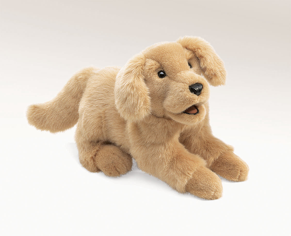 Golden Retriever Puppy Dog Puppet 2862