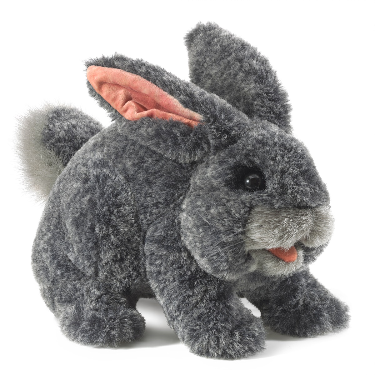 Gray Bunny Rabbit Hand Puppet by Folkmanis  3168