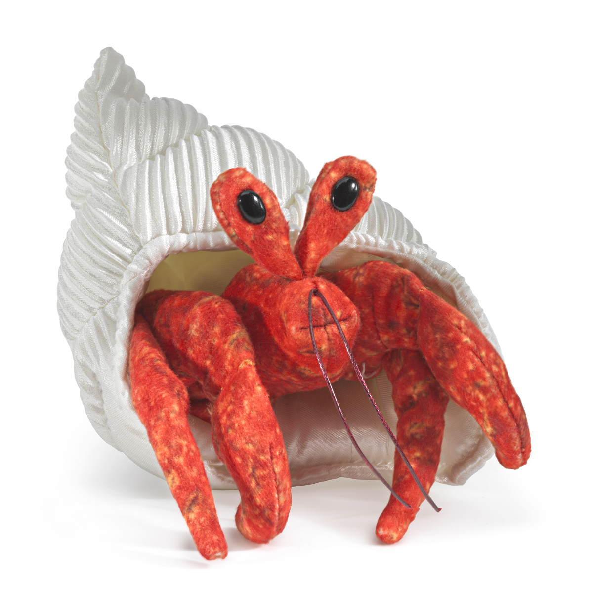 Hermit Crab Finger Puppet by Folkmanis 2786
