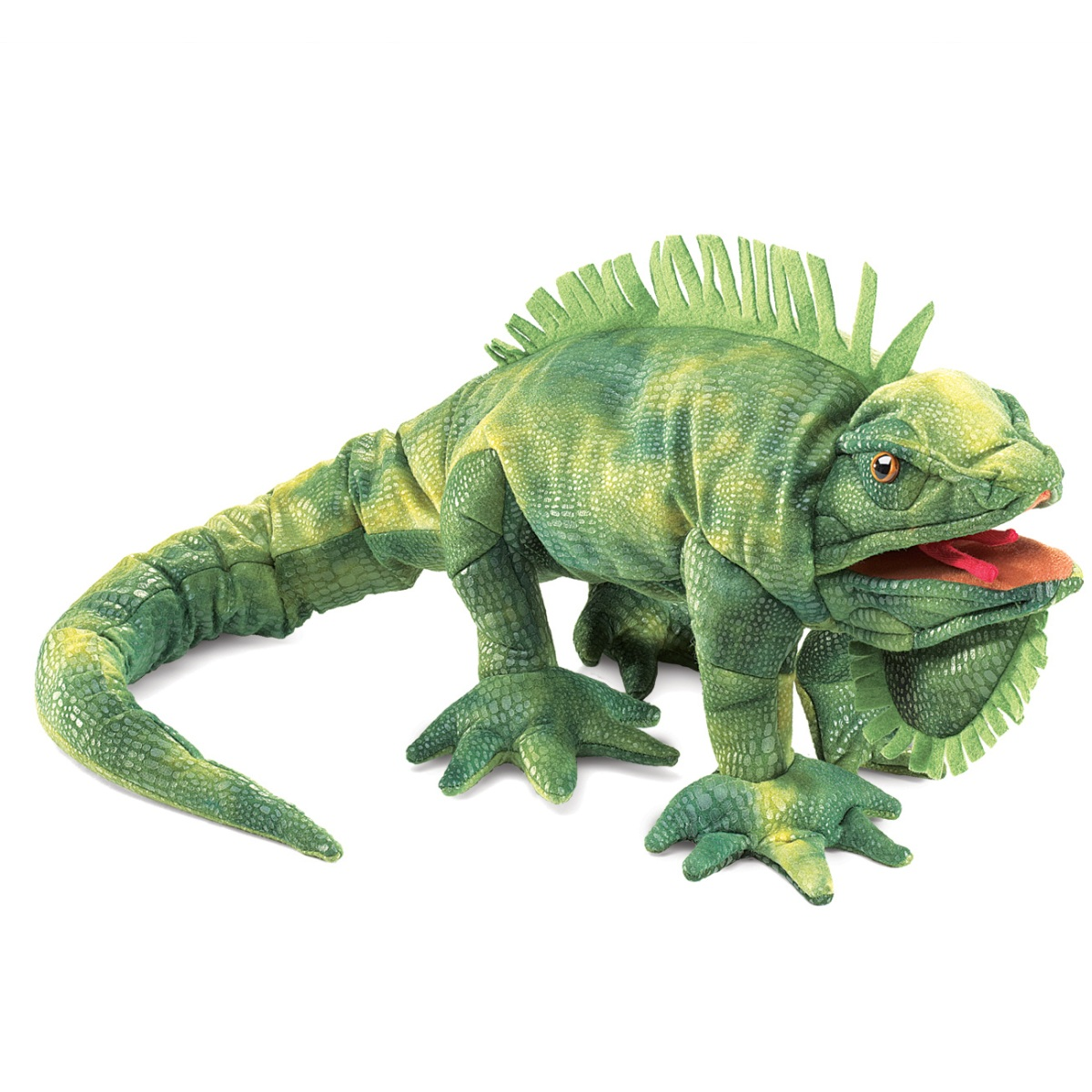 Iguana Hand Puppet by Folkmanis Puppets