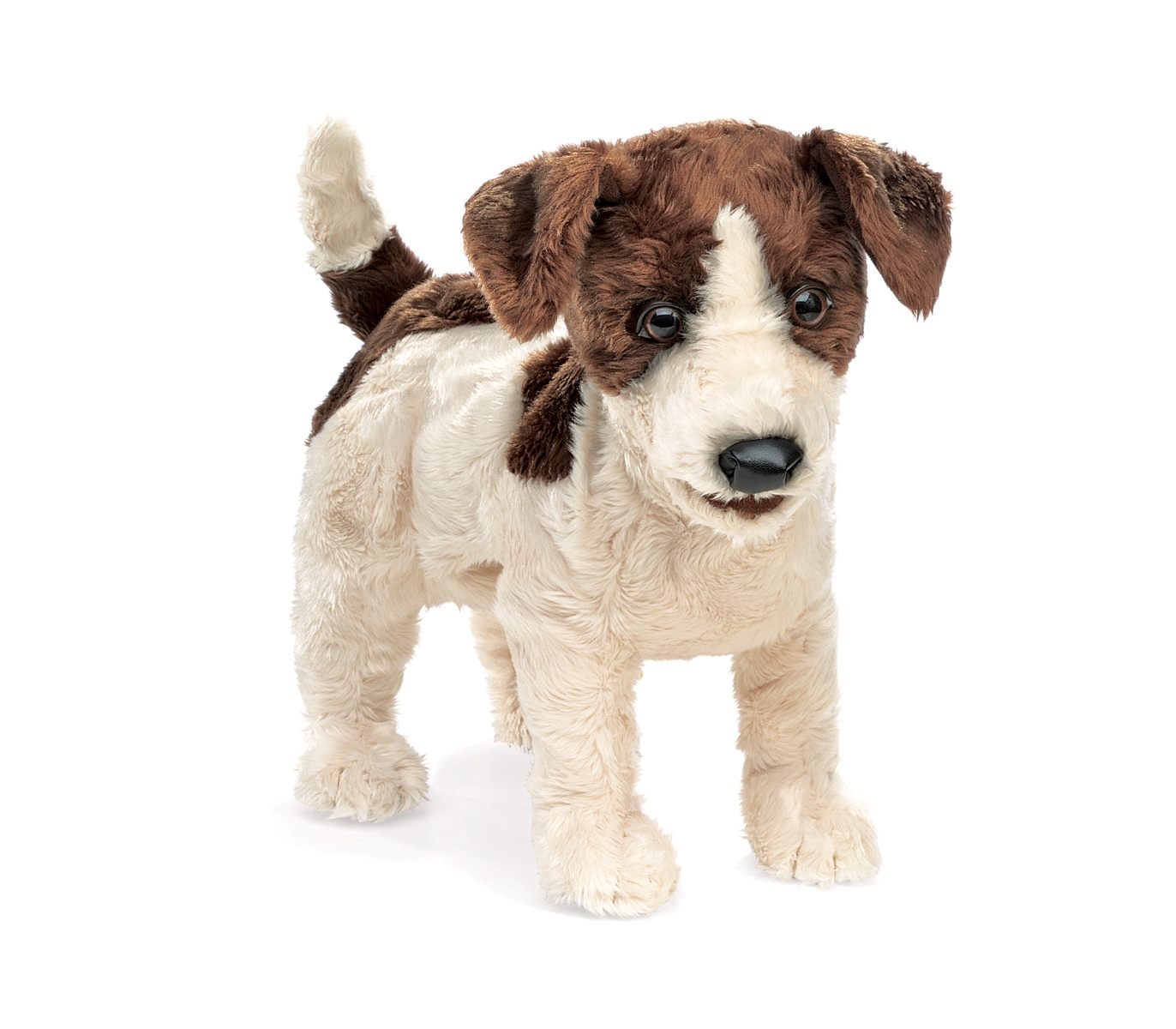 Jack Russell Terrier  Dog Puppet by Folkmanis 2848
