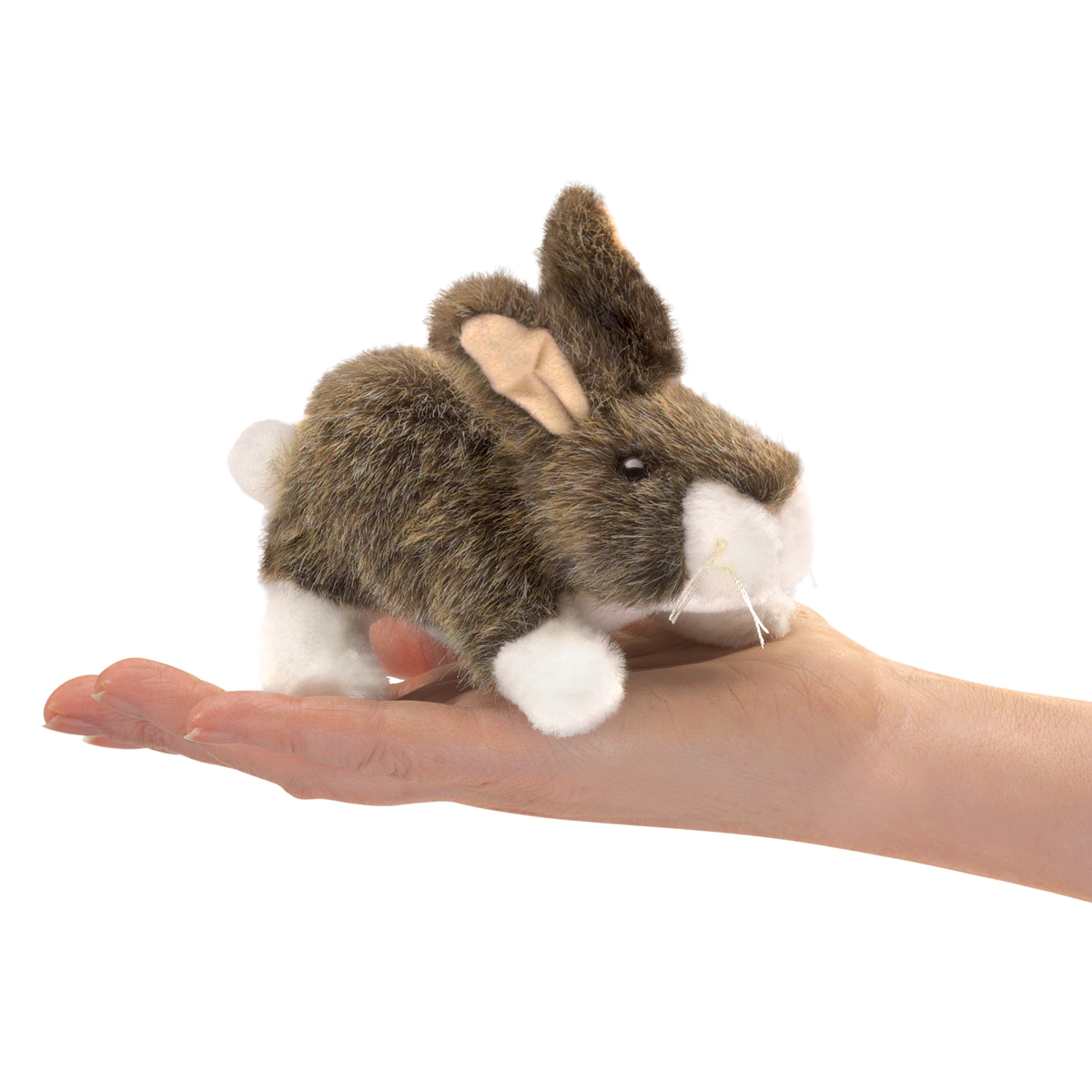 Cottontail Rabbit Finger Puppet by Folkmanis 2772