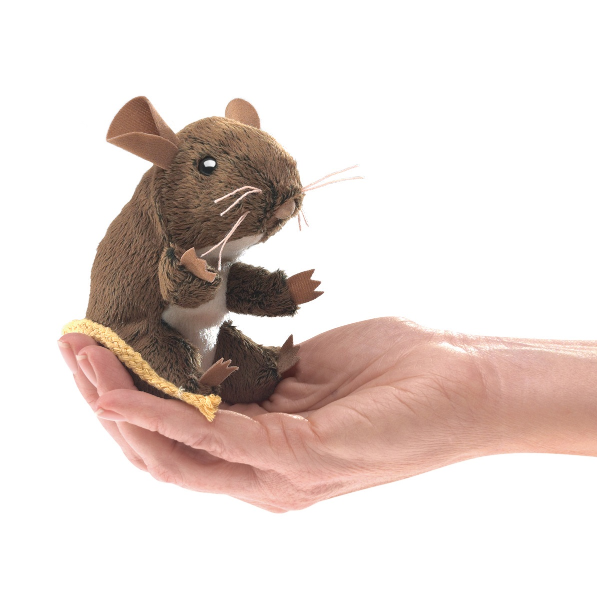 Field Mouse Finger Puppet by Folkmanis