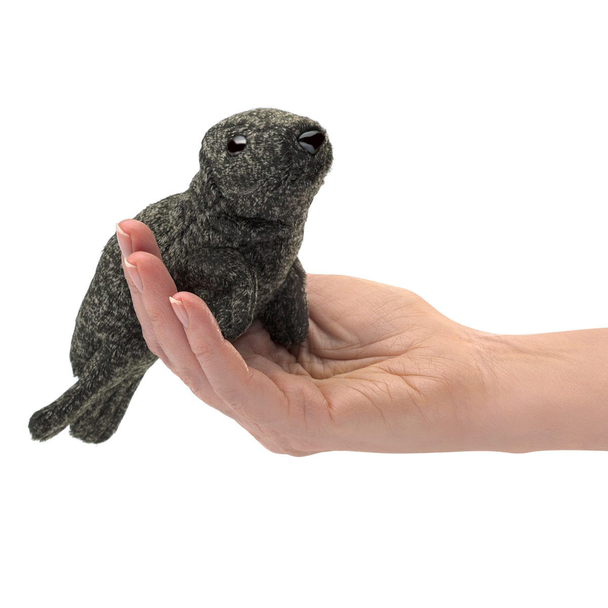 Harbor Seal Finger Puppet  2774