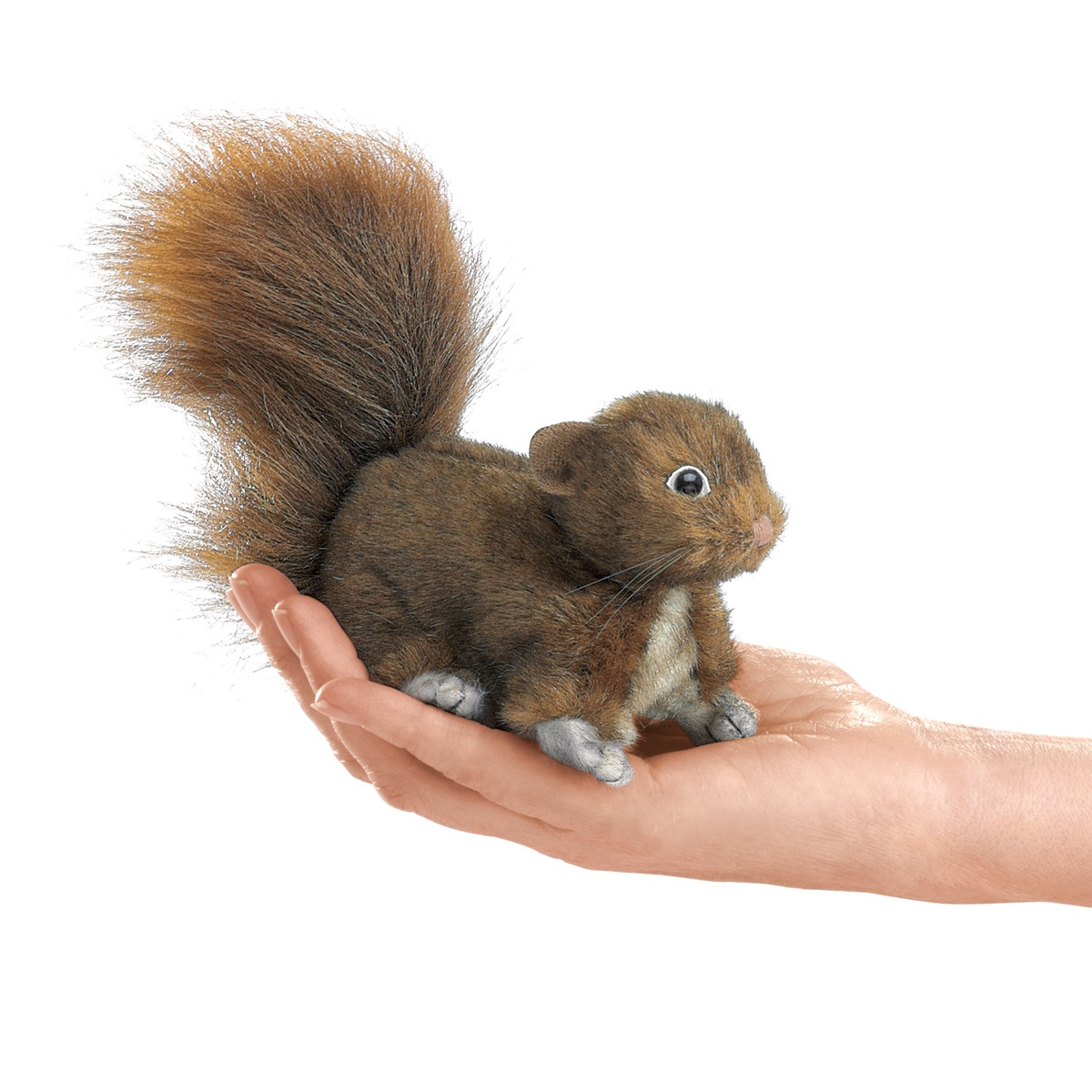 Red Squirrel Finger Puppet by Folkmanis