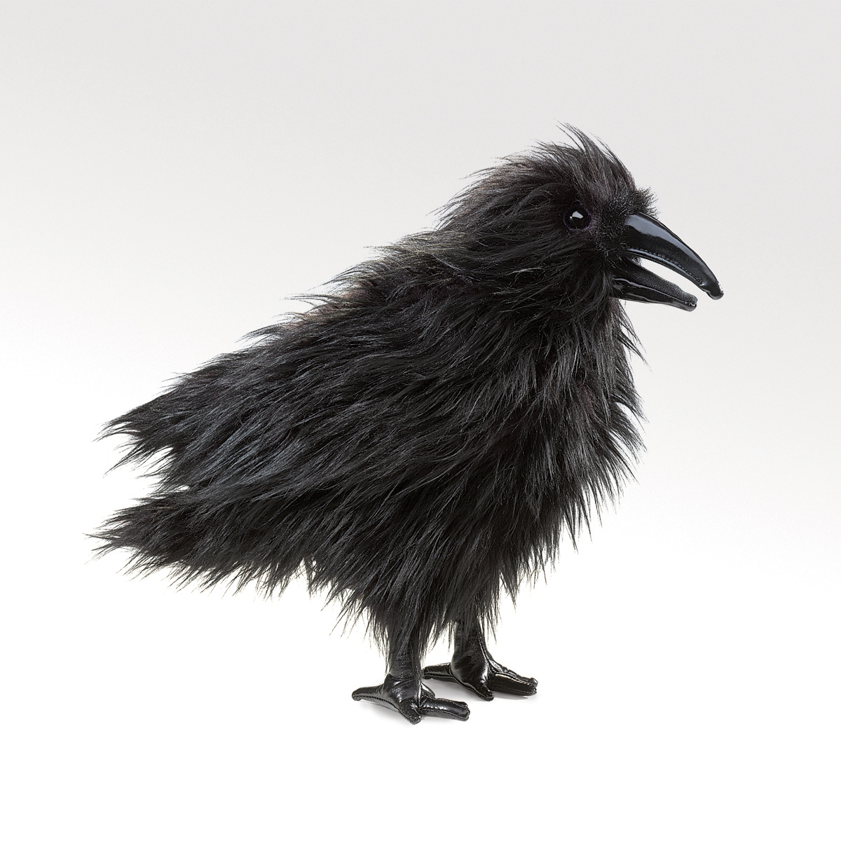 Part P Certificate >> Raven Hand Puppet by Folkmanis Puppets