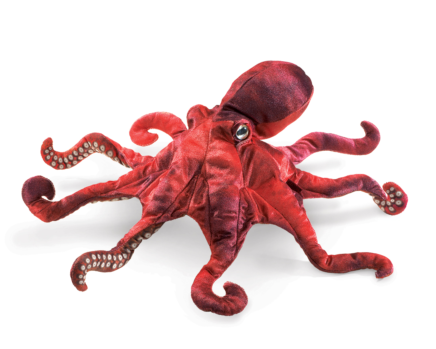 Red Octopus Puppet By Folkmanis Hand Puppets
