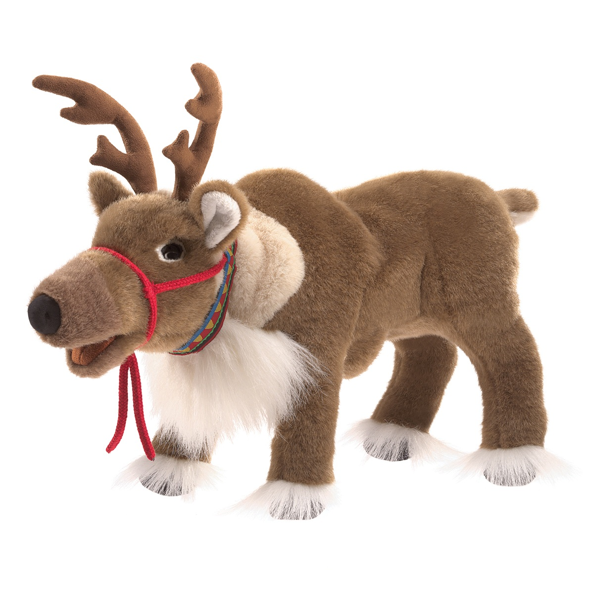 Reindeer Hand Puppet by Folkmanis 3121