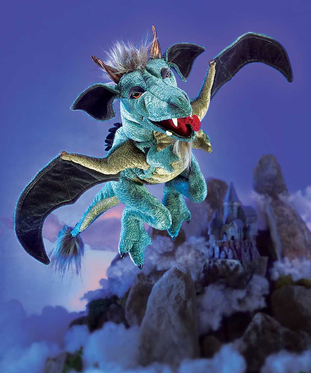 sky dragon puppet by folkmanis puppets