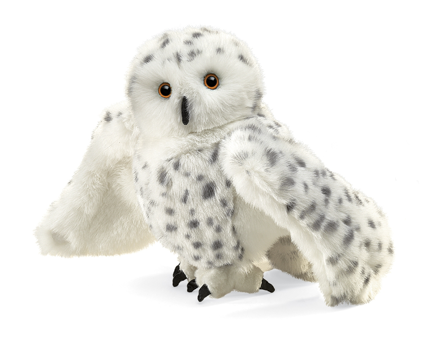 Snowy Owl Hand Puppets by Folkmanis MPN 2236