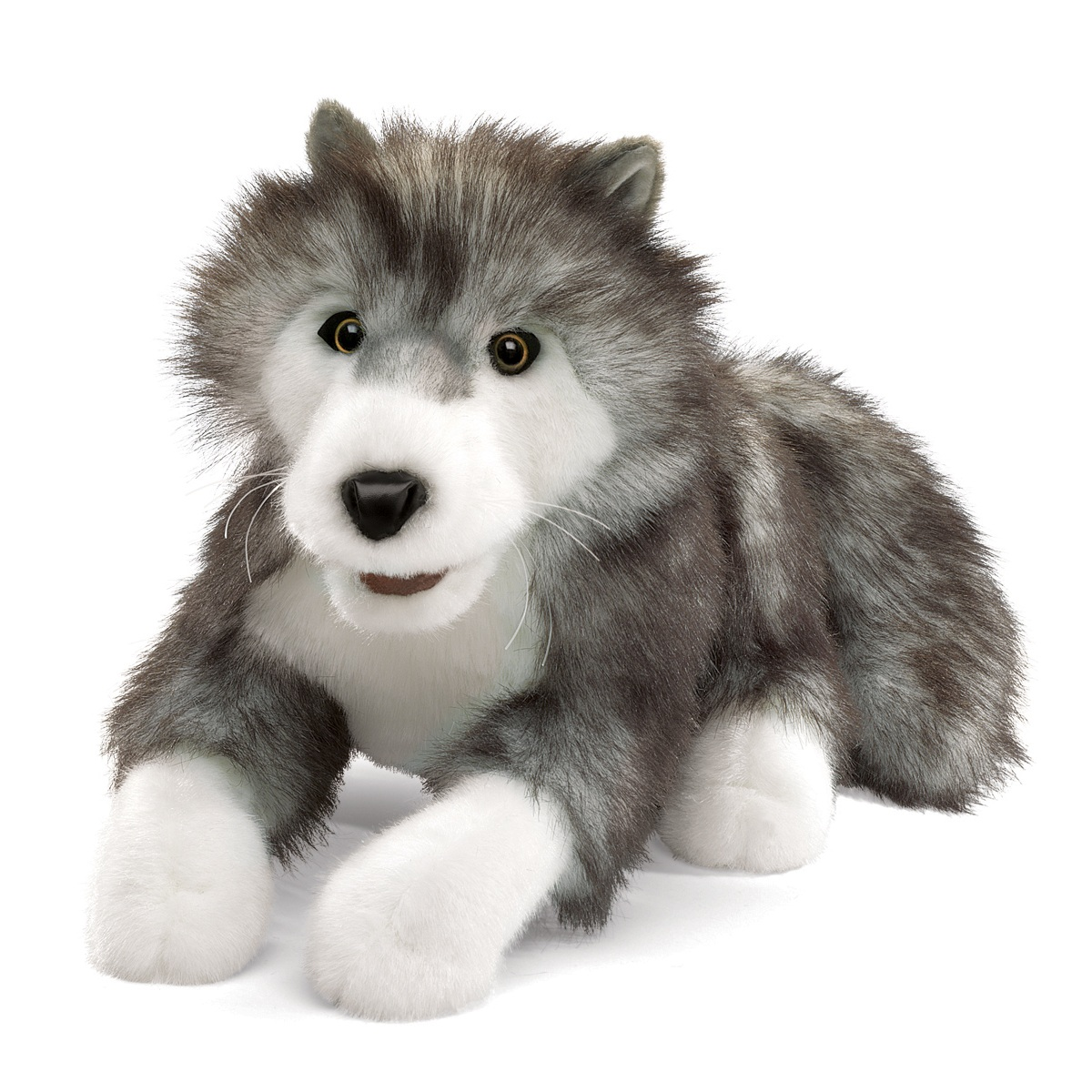 Timber Wolf Puppet by Folkmanis Puppets