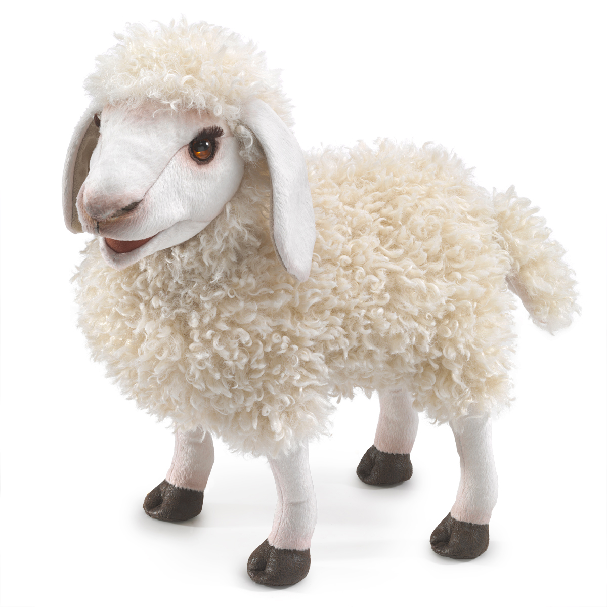 Woolly Sheep Puppet by Folkmanis 3166