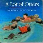 A Lot of Otters Book in soft cover
