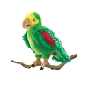 Amazon Parrot Bird Hand Puppet by Folkmanis