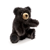 Baby Black Bear Hand Puppet by Folkmanis Puppets