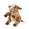 Brown Cow Puppet by Folkmanis