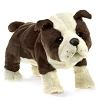 English Bulldog Hand Puppet by Folkmanis
