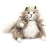 Fluffy Cat Hand Puppet by Folkmanis Puppets