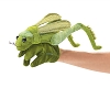 Grasshopper Bug Puppet by Folkmanis Disc.