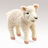 Lamb Puppet by Folkmanis Disc.