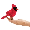 Cardinal Bird Finger Puppet by Folkmanis
