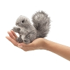 Gray Squirrel Finger Puppet